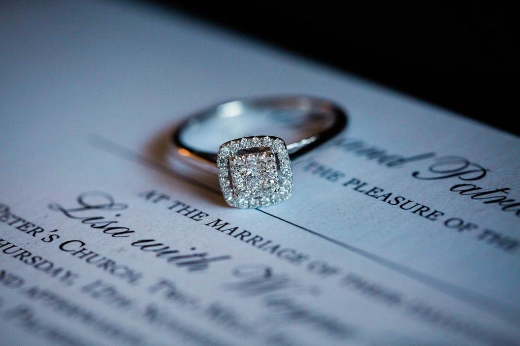engagement ring fallons restaurant kilcullen Kildare